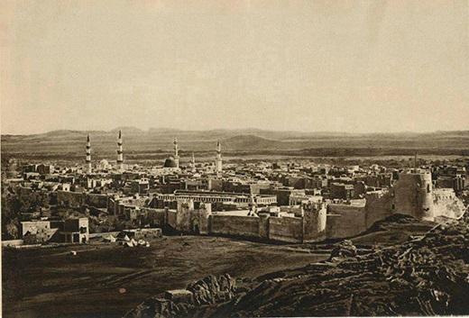 المدينة المنورة في العهد العثماني