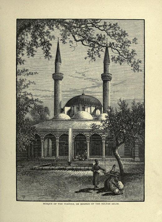 جامع السلطان سليم الأول في دمشق بني عام 1516