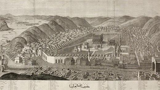 مكة المكرمة في العهد العثماني عام 1803
